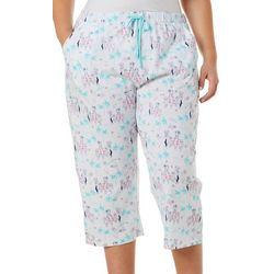 Plus Dog Cruise Pajama Capris