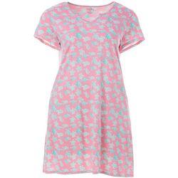 Plus Turtle Print Nightgown