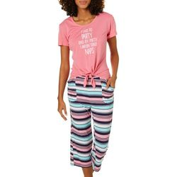 Wallflower Juniors I Like To Take Naps Capri Set