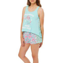 Wurl Juniors Mermaids Drink Mer-Mosas Pajama Shorts Set