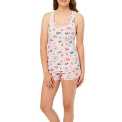 Wurl Juniors Good Vibes Pajama Shorts Set