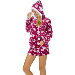 Em & Alfie Juniors Owl Hoodie & Pajama Shorts Set