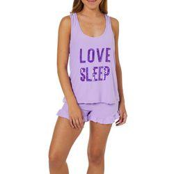 Grumpy & Gorgeous Juniors Love Sleep Pajama Shorts Set
