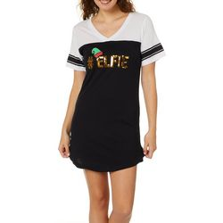 Not A Morning Person Juniors #Elfie Dorm T-Shirt Nightgown