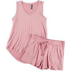Jaclyn Intimates Solid Shorts Set