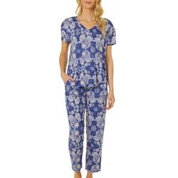 Jaclyn Intimates Womens Paisley Pajama Pants Set