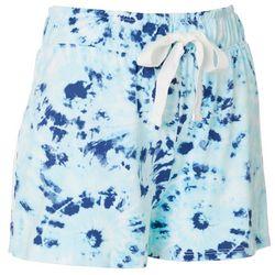Jaclyn Intimates Womens Tie-Dye Print Pajama Shorts