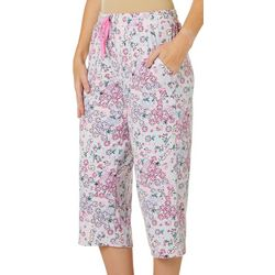 Jaclyn Intimates Womens Soft Sensations Floral Pajama Pants