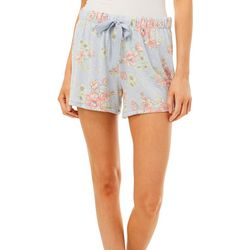 Jaclyn Intimates Womens Floral Heather Print Pajama Shorts