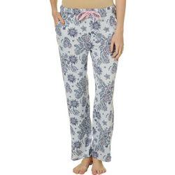 Jaclyn Intimates Womens Marching Paisley Pajama Pants