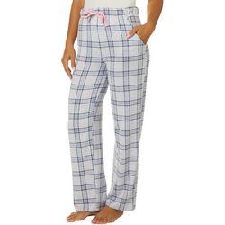 Jaclyn Intimates Womens Darlington Plaid Print Pajama Pants