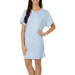 Jaclyn Intimates Womens Whisperluxe Geo Sleep Dress