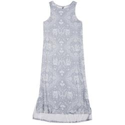 Womens Paisley Luxe Tank Dress