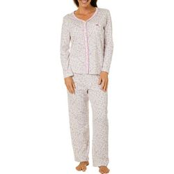 Karen Neuburger Womens Ditsy Floral Pajama Pants
