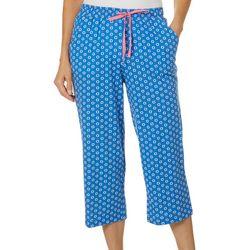 Karen Neuburger Womens Medallion Capri Pajama Pants