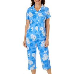 Karen Neuburger Womens Floral Capri Pajama Set