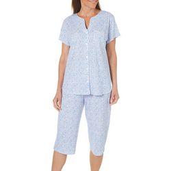 Karen Neuburger Womens Free Bird Floral Pajama Set