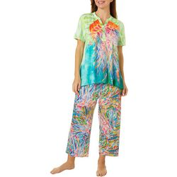 Leoma Lovegrove Womens 2-Pc. Wild Thing Pajama Set