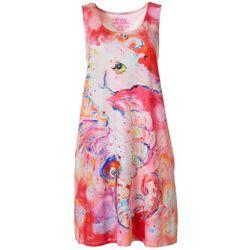 Leoma Lovegrove Womens Seahorse Tank Nightgown