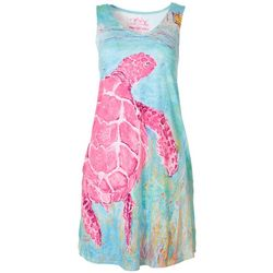 Leoma Lovegrove Womens Turtle Tank Dress