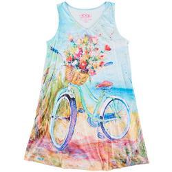 Womens Beach N' Ride Tank Nightgown