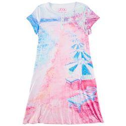 Leoma Lovegrove Womens Lido Beach Short Sleeve Nightgown
