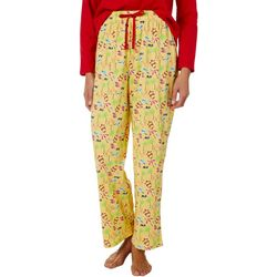 Coral Bay Womens Beach Print Pajama Pants