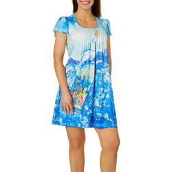 Leoma Lovegrove Womens Bottled In Florida Nightgown
