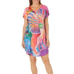 Leoma Lovegrove Womens Calypso Nightgown