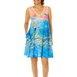 Leoma Lovegrove Womens Holy Mackerels Tank Nightgown