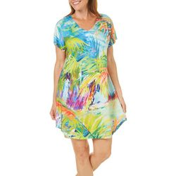Leoma Lovegrove Womens Palms Away Nightgown