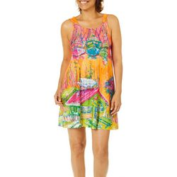 Leoma Lovegrove Womens Island Market Tank Nightgown
