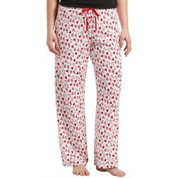 Hue Womens Hearts Print Pajama Pants