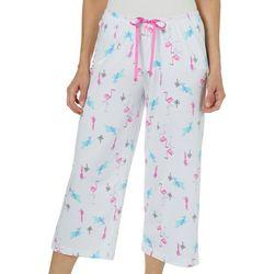 Hue Womens Bird Paradise Capri Pajama Pants