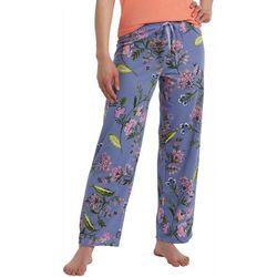 Hue Womens Flower Eden Skimmer Pajama Pants