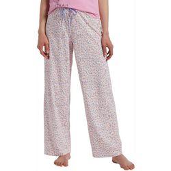 Hue Womens Ditzy Bloom Print Long Pajama Pants