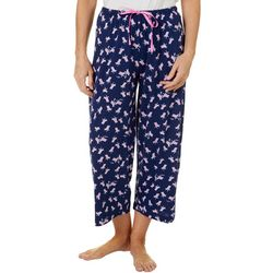 Hue Womens Beach Chair Capri Pajama Pants