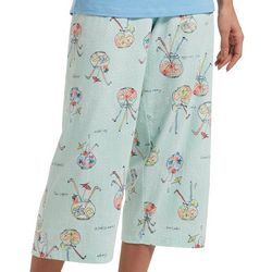 Plus Punch Bowls Pajama Capris
