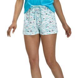 Womens Ride A Wave Pajama Boxer Shorts