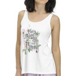 Hue Womens One Step Closer To Summer Pajama Tank Top