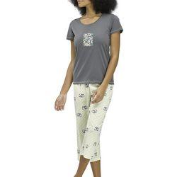 Hue Womens Enjoy The Small Things Cat Pajama Set