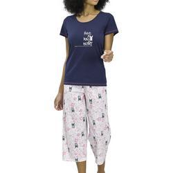 Womens Have A Kind Heart Dog Pajama Set