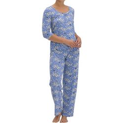 Hue Womens Sheep Print Pajama Set