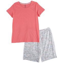Womens Bermuda Pajama Set