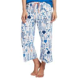 Hue Womens Sailor Jam Pajama Capris