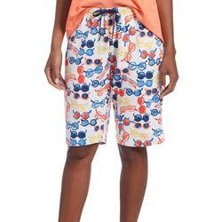 Hue Womens Hot Shades Pajama Bermuda Shorts