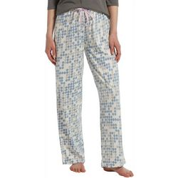 Hue Womens Geo Pop Print Long Pajama Pants
