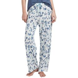 Hue Womens Bow Wow Dogs Long Pajama Pants