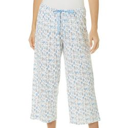 Hue Womens Summer Cocktails Pajama Capris