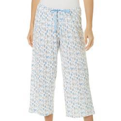 Womens Summer Cocktails Pajama Capris